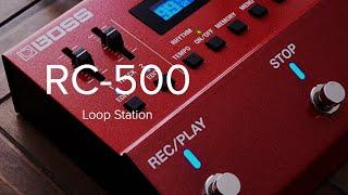 Loop station BOSS RC 500, la recensione completa