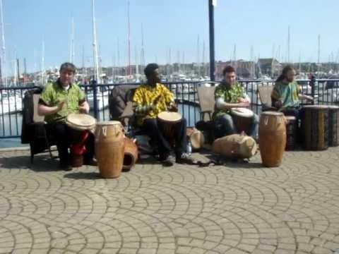 Releasing Rhythms - African Drumming - djembe