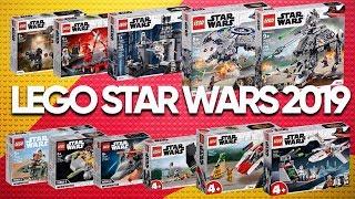 Обзор Новинок Лего Звездные Войны 2019 | 75225, 75226, 75228, 75229, 75233, 75234, 75235, 75237