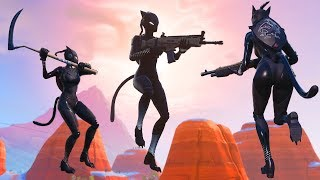 First game using the BLACK LYNX Skin in Fortnite!