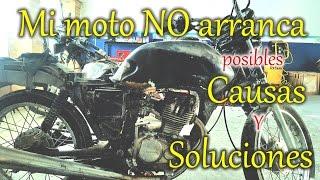 ¿Por qué mi moto no arranca o no enciende? - Posibles causas y soluciones