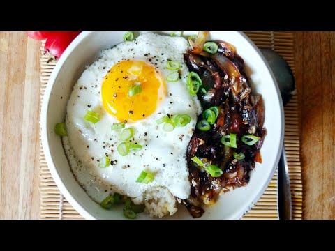 rice-bowl-ala-mangkokku:-bawang-karamel-telor-ceplok-spesial