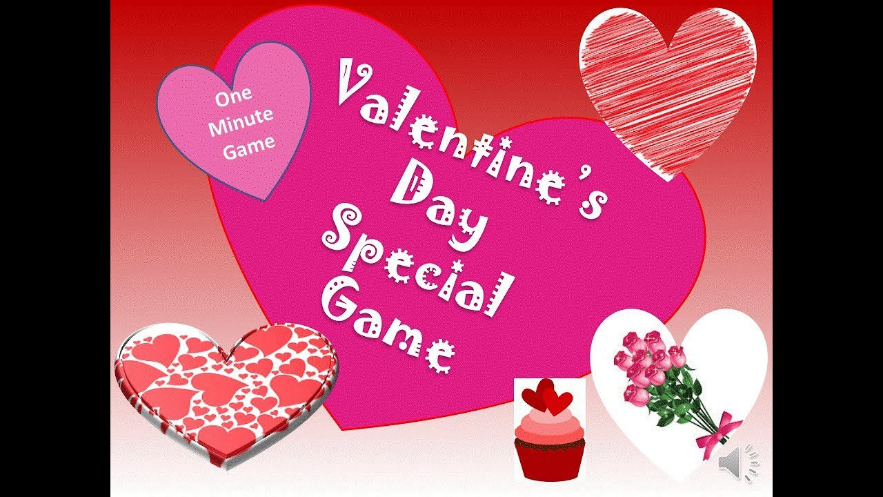 1 Minute Game For Valentines Day Party Couple Game For
