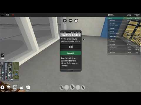 roblox vehicle simulator money codes december 2018
