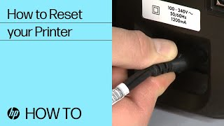 How to Reset your HP Printer |…