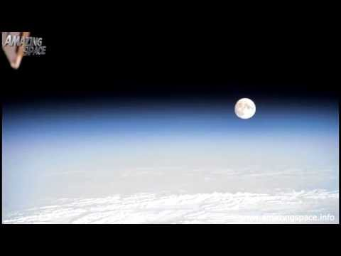 4K Time Lapse Video - The Sun, Moon and Earth seen from orbit - International Space Station ISS