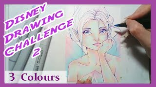 08 Using Only 3 Colours  - Periwinkle