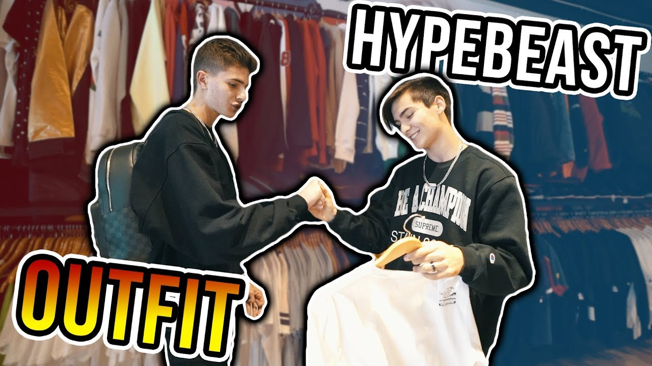 a772a3bd Buying a Crazy Hypebeast Outfit for a Fan! - YouTube