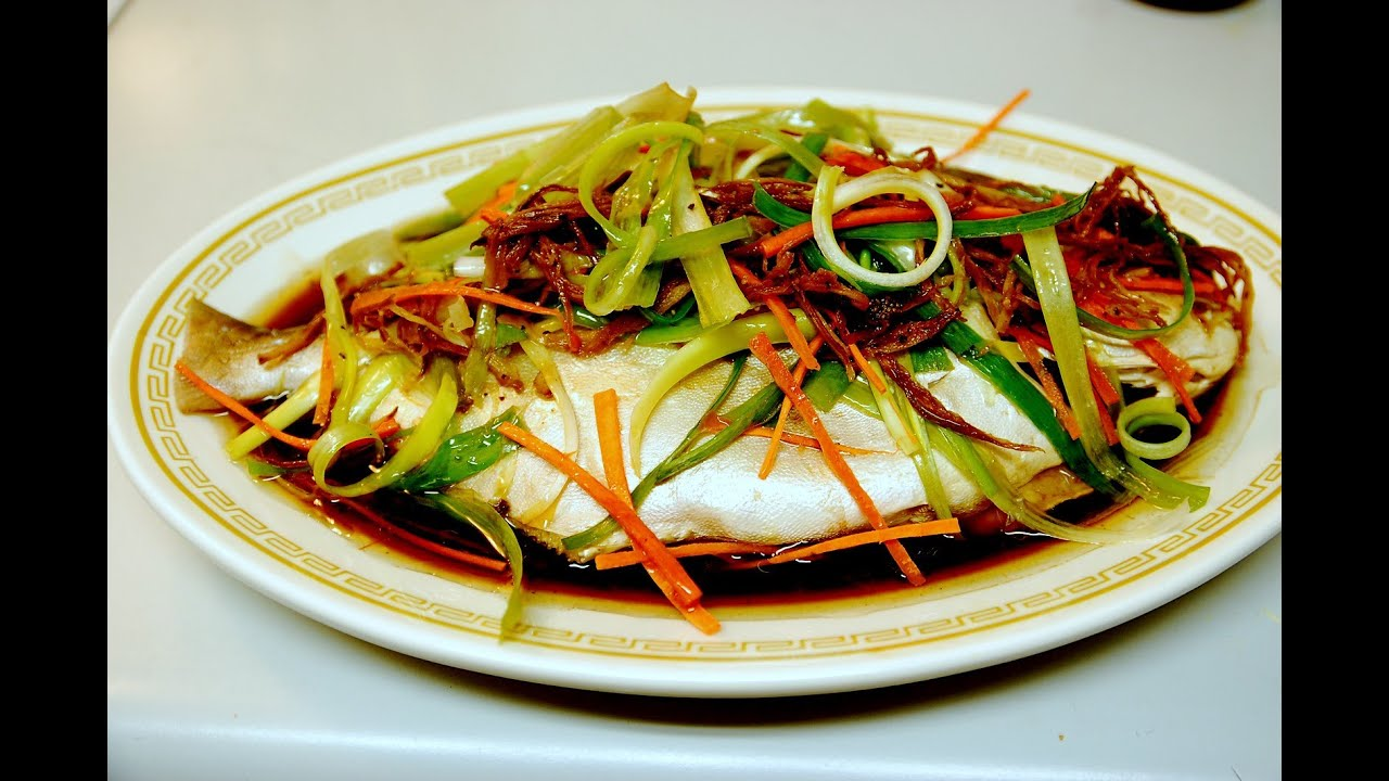 Healthy steamed ginger whole fish authentic for Authentic cantonese cuisine