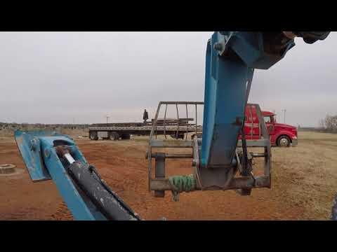 Unloading metal building kit