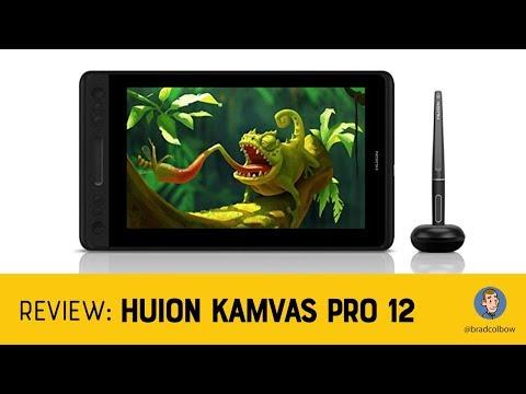 Huion Kamvas Pro 12 Review