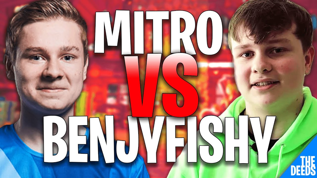 NRG Benjyfishy 1 VS 1 Liquid Mitro | Fortnite Highlights *NRG VS LIQUID*