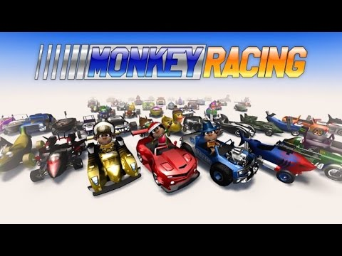 Monkey Racing Gameplay - For iOS And Android