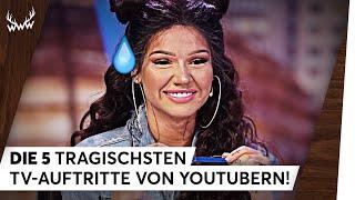 Die 5 tragischsten TV-Auftritte von YouTubern! | TOP 5