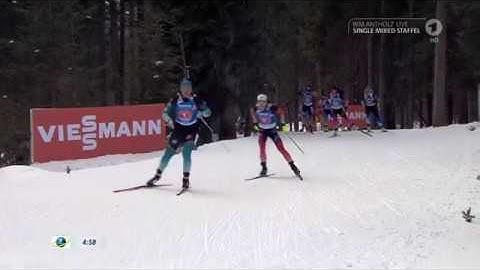 Biathlon WM 2020 in Antholz - Single - Mixed - Staffel - Komplettes Rennen - Tag 7