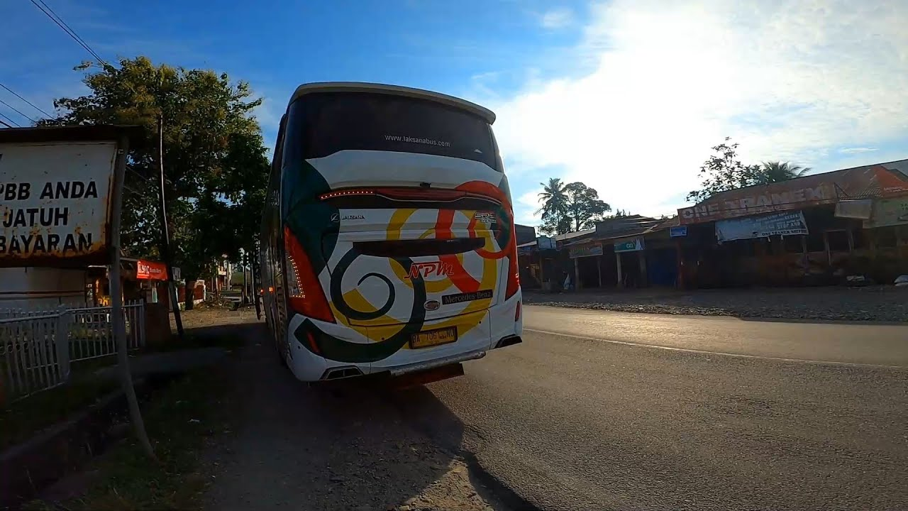 Akhirnya Sampai Kota Padang padahal belum pukul 7 pagi // Part 5 NPM V43