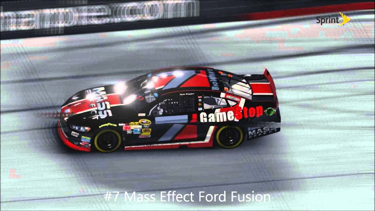 Nascar Custom Paint Schemes Youtube