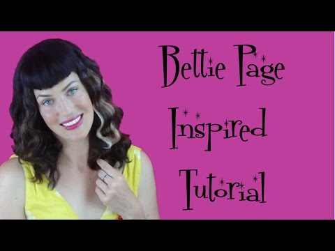 How To Get That Bettie Page Look - Fitfully Vintage