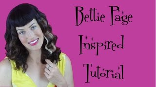 How To Get that Bettie Page Look - Vintagious