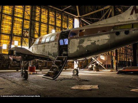 ABANDONED BY NASA NAVAL AIR BASE!