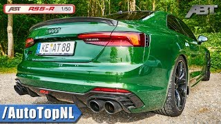 ABT Audi RS5-R 2.9 TFSI V6 BiTurbo | EXHAUST SOUND & Onboard AUTOBAHN by AutoTopNL