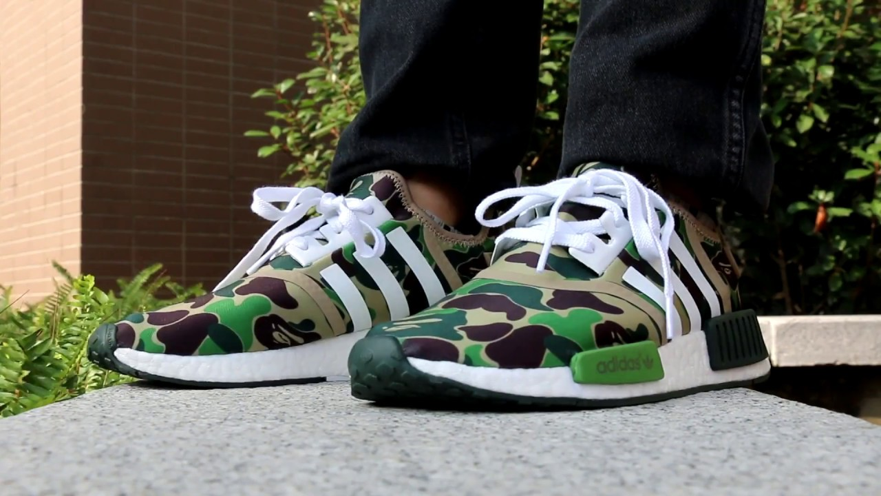 00eff91b42e62 BAPE x adidas NMD On Feet Review From Trade666a.cn Daniel Ke - YouTube