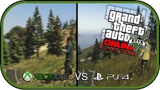 فيديو لن تصدق الفروق بين Xbox One وPS4 في لعبة GTA V