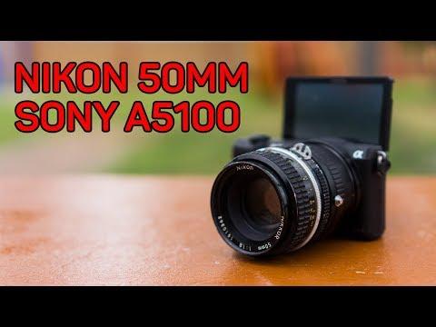 Review 50mm Nikon Manual Vintage en una Sony a5100 con adapatador Fotasy