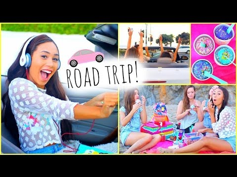 Thumbnail: ☼ Summer Road Trip ☼ Essentials Outfits Food + Songs!
