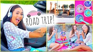 ☼  Summer Road Trip ☼ Essentials Outfits Food + Songs!