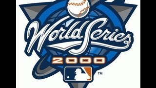Mlb 12 The Show World Series 2000 Game 5 Yankees(Andy Pettitte) vs Mets(Al Leiter)