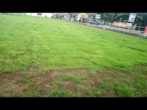 Hasil dari penaburan benih rumput Scotts Turf Builder Bermudagrass untuk lapangan bola