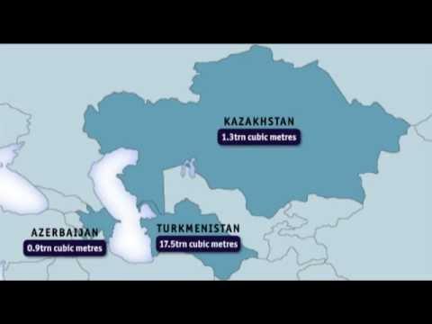 NEW Caspian gas videographic