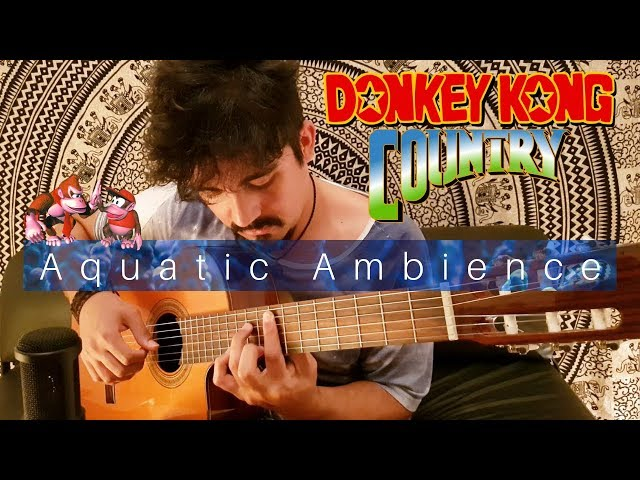 Aquatic Ambience on Classical Guitar (Donkey Kong Country) by Luciano Renan