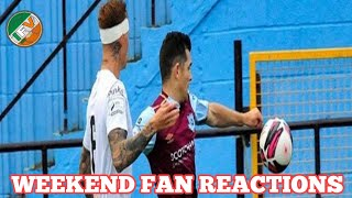 League Of Ireland | Fan Reactions | Shamrock Rovers, Waterford FC, Cork City +More