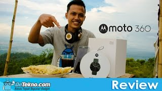 Review Motorola Moto 360 Indonesia(Review Motorola Moto 360 Indonesia versi Detekno.com | Motorola Moto 360 ini kami dapatkan dengan harga Rp.2.500.000,- di Lazada Indonesia. Jika ada ..., 2015-12-13T18:50:53.000Z)