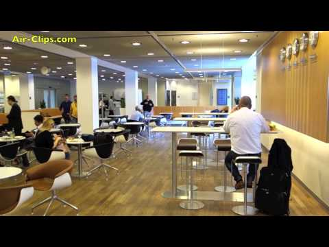 Lufthansa Senator Lounge Star Alliance Gold Frankfurt Airport [AirClips]