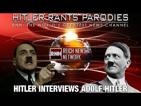 Hitler interviews Adolf Hitler