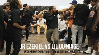 JR Ezekiel vs Lil Outrage (Krump Exhibition Battle) CITY VS CITY Volume 1
