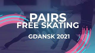 LIVE Pairs Free Skating Gdansk 2021 JGPFigure