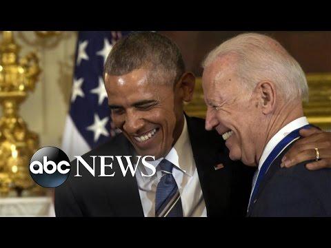 President Obama's Emotional Tribute to Vice President Biden