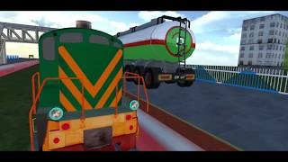 Indian Train Oil Tanker Transport : Train Games 2018 - #2 - Best Android Gameplay FHD