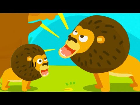 Kids Learn Real Animals Names and Sounds | Fun Baby Panda Learn Animals Educational Game For Kids