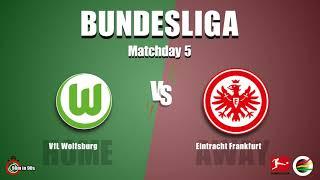VfL Wolfsburg vs. Eintracht Frankfurt - Bundesliga Season 21/22