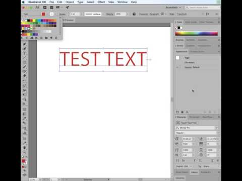 Altering Text Width appearance using stroke in Illustrator