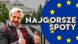 PRZEGLĄD SPOTÓW WYBORCZYCH EUROPARLAMENT - Strzał z Dvpska #15