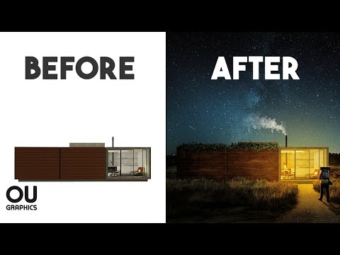 Architecture Post-production in Photoshop