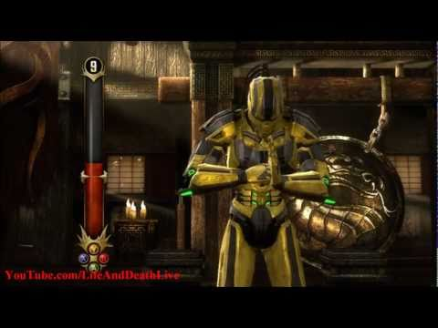 Mortal Kombat 9 Test Your Might **All Challenges** (HD)