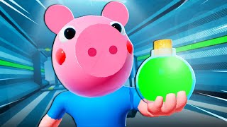 George Pig Finds The Cure?! A Roblox Piggy Movie