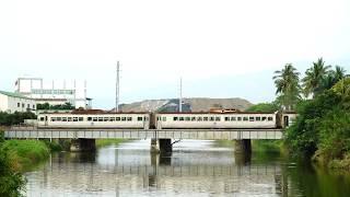 2019.03.17 DR2700光華號郵輪列車5882次通過北勢溪橋